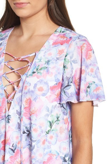 Women's Show Me Your Mumu Floral Print Tunic 5