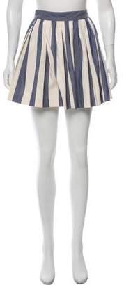 MAISON KITSUNÉ Pleated Mini Skirt w/ Tags