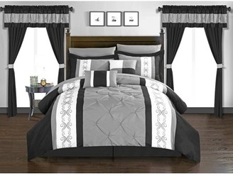 Chic Home Kaia 20 Piece Comforter Set Bed in a Bag Bedding