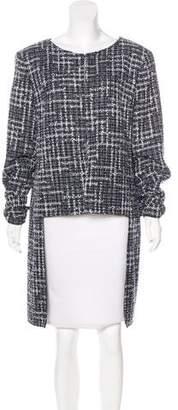 Chanel Fantasy Tweed High-Low Jacket w/ Tags