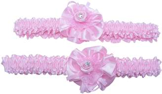 DesignedDazzle Two Bridal Wedding Garters; One for keeps and one to throw