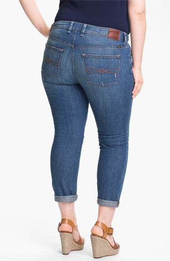 Lucky Brand 'Ginger Weekender' Boyfriend Jeans (Plus Size)