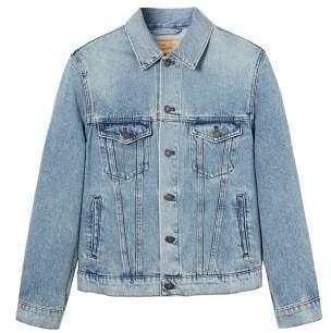 Mango Man MANGO MAN Vintage light wash denim jacket