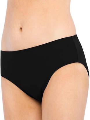 Christina BLUE Semi High Waist Bikini Bottom