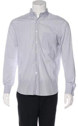 Billy Reid Woven Stripe Shirt
