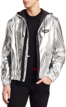 Givenchy Metallic Hood Jacket