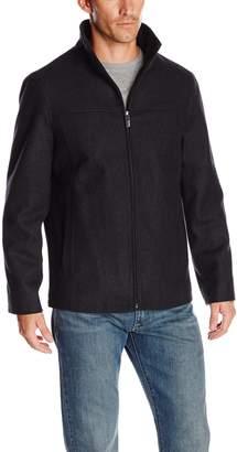 Perry Ellis Men's Big Melton Wool Jacket