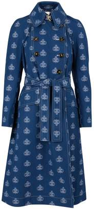 Chloé Denim trench-coat