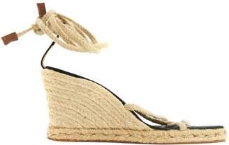 Michael Kors Beige Cloth Sandals