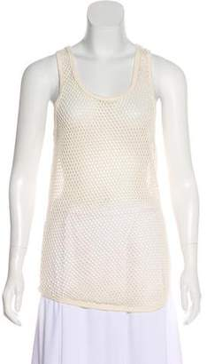 Isabel Marant Open-Knit Mini Dress