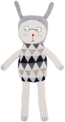 Luckyboysunday Pale Nulle Alpaca Knit Stuffed Toy