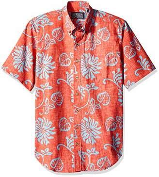 Reyn Spooner Men's Nane'a Spooner Kloth Tailored Fit Hawaiian Shirt