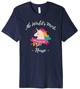 Magical Unicorn Nurse Gifts - Cute Nurse T-shirts