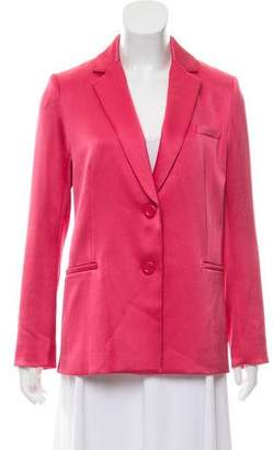 Alice + Olivia Structured Notch-Lapel Blazer