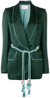 Peter Pilotto contrast trim blazer