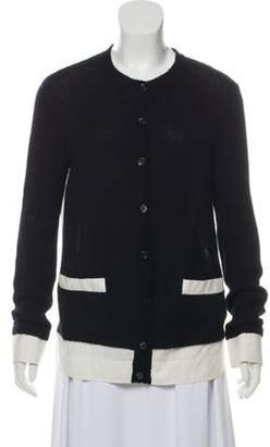 Marni Cashmere Lightweight Cardigan Black Cashmere Lightweight Cardigan