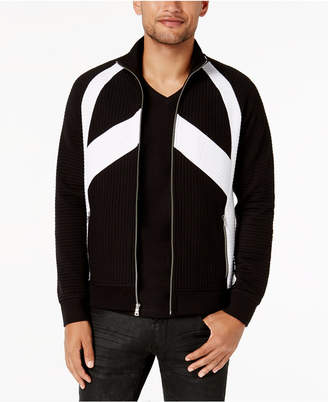 INC International Concepts I.n.c. Men's Pieced Zip-Front Jacket, Created for Macy's
