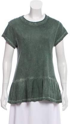 The Great Short Sleeve Peplum T-Shirt