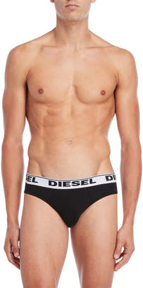 Diesel 3-Pack Stretch Cotton Briefs