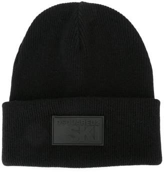 DSQUARED2 Ski patch beanie