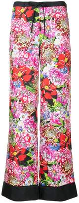 Mary Katrantzou floral print trousers