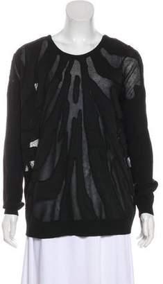 Barbara Bui Knit Scoop Neck Sweater