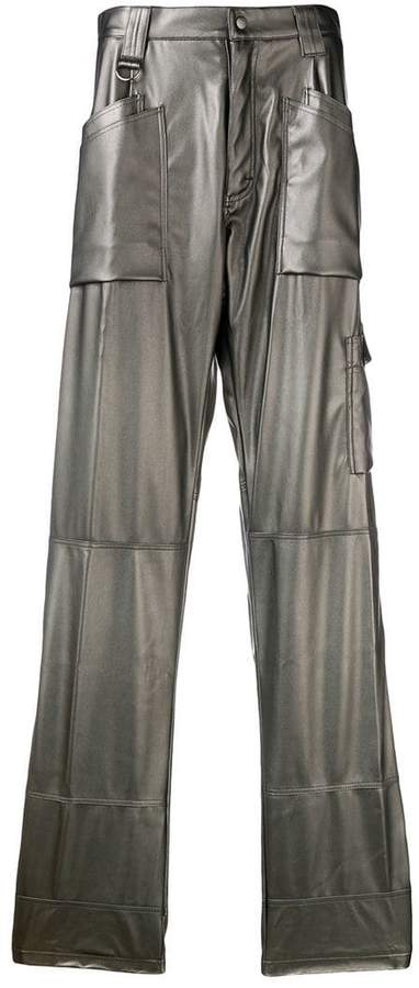 GmbH straight loose-fit trousers