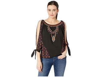 Rock and Roll Cowgirl 3/4 Sleeve B4-4310