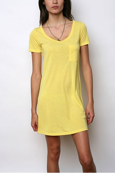 Silence & Noise Pocket Tee Dress