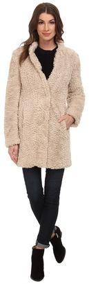 Kenneth Cole New York Faux Fur Teddy Coat $195 thestylecure.com