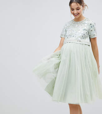 3fa44213c8860 Embellished Maternity Dresses - ShopStyle UK
