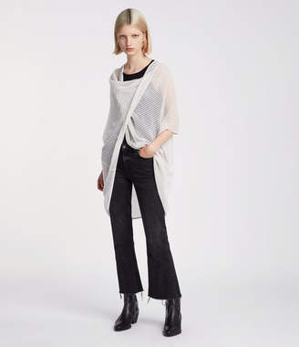 AllSaints Itat Twist Knit Top