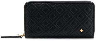 Tory Burch quilted zip around wallet
