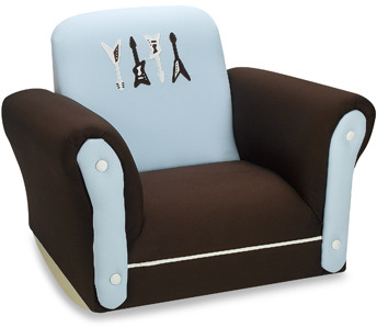 Lambs & Ivy® Rock 'n Roll Upholstered Rocking Chair