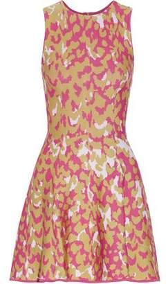 Issa Marla Jacquard-Knit Mini Dress