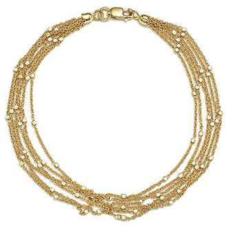 Bloomingdale's 14K Yellow Gold Multi Strand Chain Bracelet - 100% Exclusive