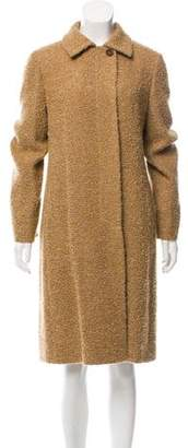 Akris Wool & Angora-Blend Coat