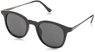 Morgan A.J. Sunglasses Unisex-Adult Inline 53769-BLK Square Sunglasses