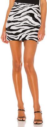 Alice + Olivia Ramos Sequin Fitted Mini Skirt