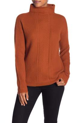 Sofia Cashmere Cashmere Mock Neck Long Sleeve Sweater