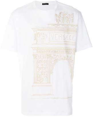 Versace ancient Greece print T-shirt