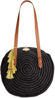 INC International Concepts I.n.c. Straw Circle Tote