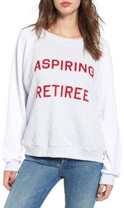 Women's Wildfox Aspiring Retiree Sweatshirt