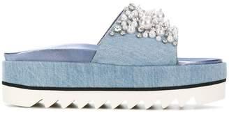 Le Silla Ines embellished platform sandals