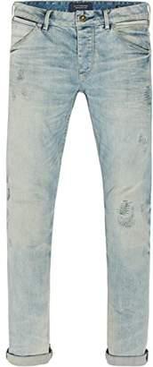 Scotch & Soda Men's Phaidon Slim Jeans, (Blue Gold Repair 1847), W32/L32