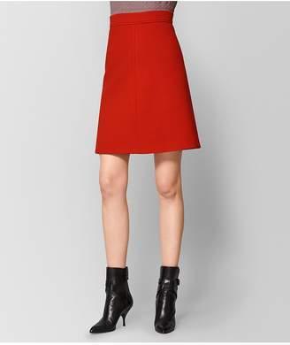 Bottega Veneta Poppy Wool Skirt