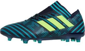 cheap for discount 6f75c 0aae9 adidas Mens Nemeziz 17.1 FG Football Boots Legend InkSolar YellowEnergy  Blue