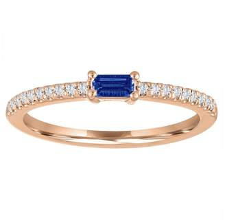 story. My Julia Sapphire Ring - Rose Gold