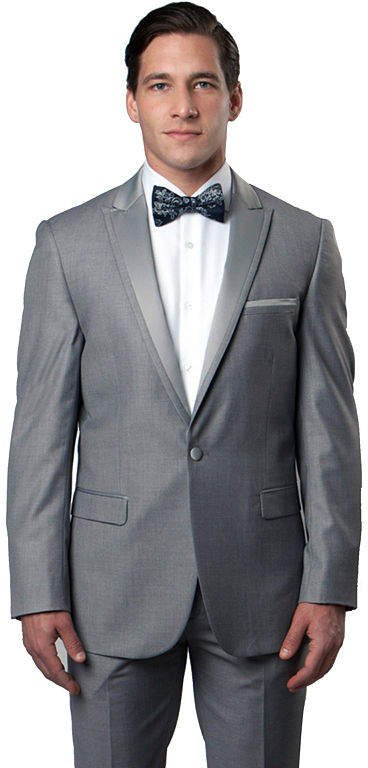 TAZIO Men's Slim Fit Tuxedo - Big & Tall