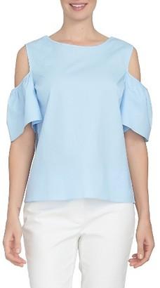 Women's Cece Tie Back Poplin Top $79 thestylecure.com